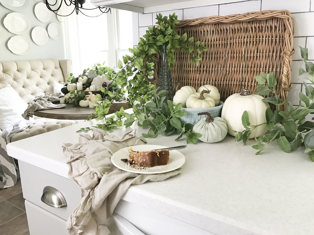 Fall Home Tour inside Plum Pretty Decor and Designs Fall Home- Kitchen Fall Decor
