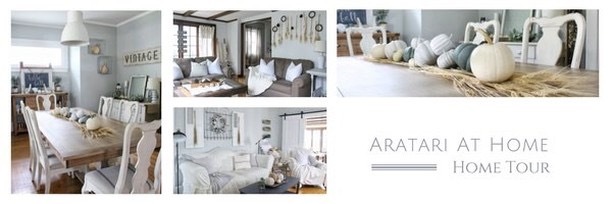 Fall into our Homes Home Tour- With Aratari At Home