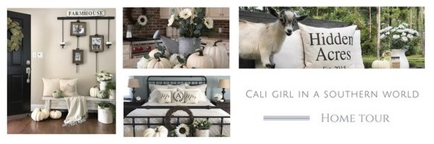 Fall into our Homes Tour- With Cali Girl In A Southern World