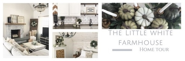 Fall into our Homes Tour- With The Little White Farmhouse