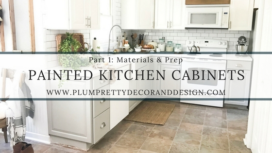 painted kitchen cabinets budget kitchen makeover part 1 materials prep - Budget Kitchen Cabinets