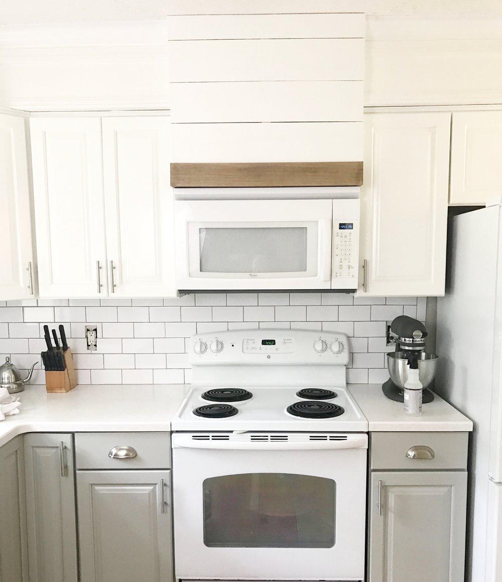 Plum Pretty Decor & Design Co.Painted Kitchen Cabinets- Budget ...