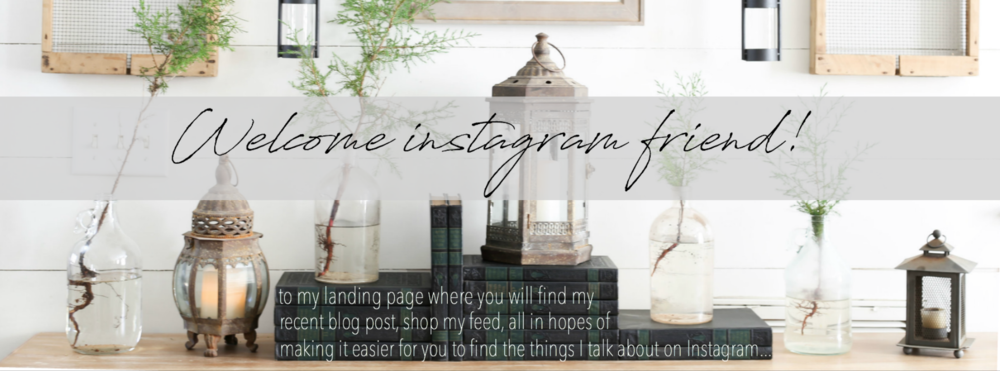 Welcome to my Instagram Landing Page- Plum Pretty Decor and Design