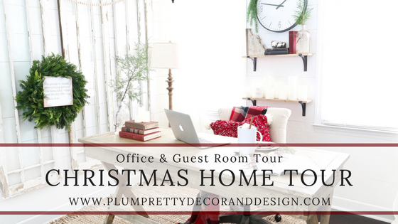 Christmas Home Tour Holiday Office