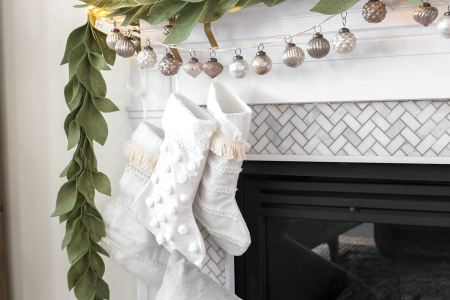 Anthropologie INSPIRED DIY Stockings- Full Tutorial