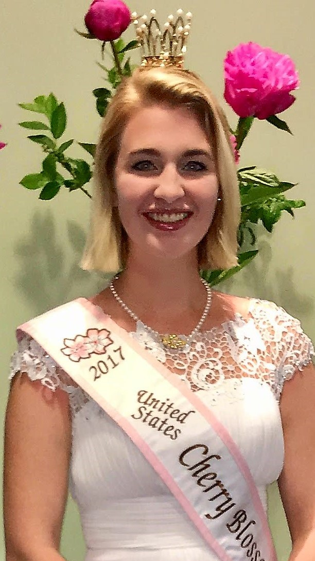 The United States Cherry Blossom Queen -- Samantha Olsen