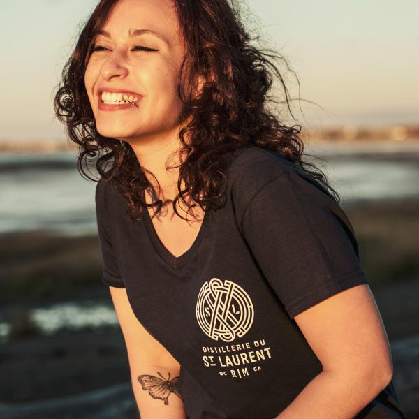 T-Shirt St. Laurent Femme - 15$