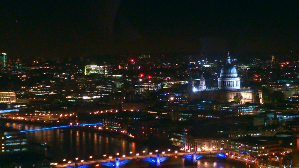 St Paul's as seen from the Shard
