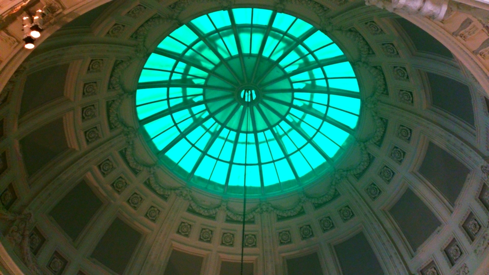 Domed ceiling of the V&A Museum