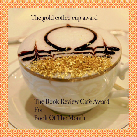 The Book Review Cafe Golden Coffee Cup.jpeg