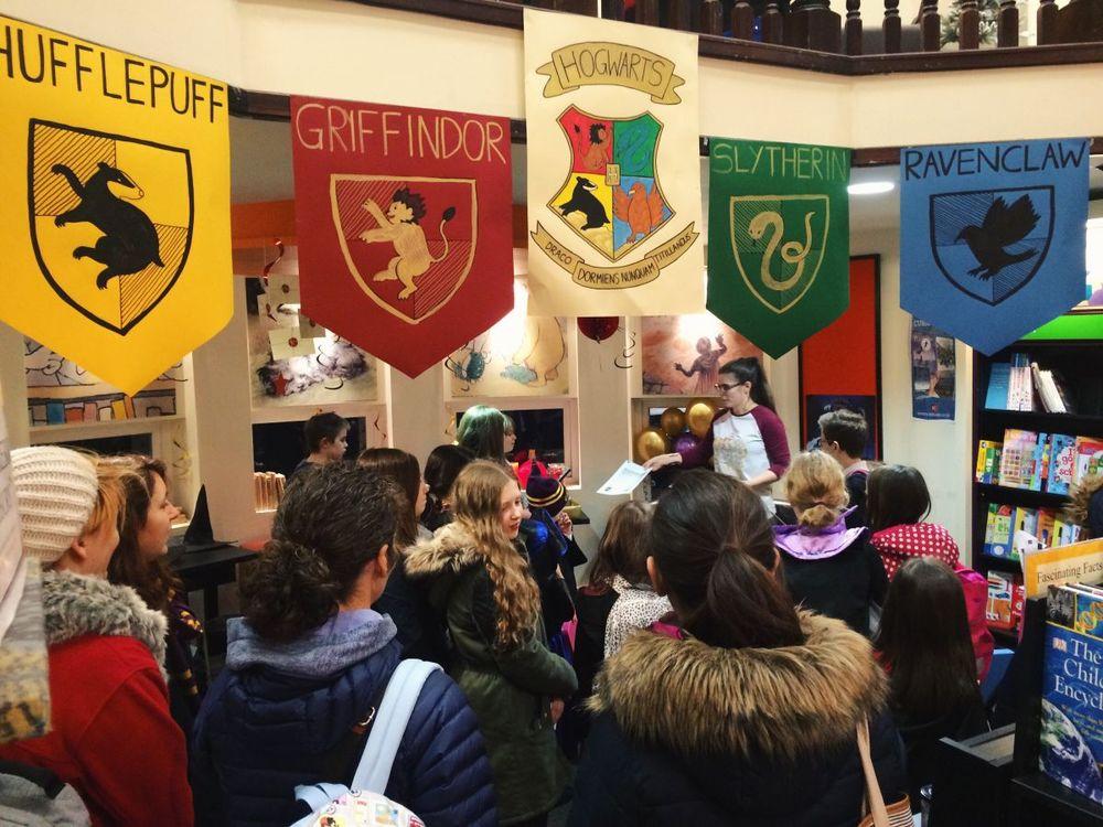 Harry Potter Book Night 2016 Waterstones Edinburgh West End 1.JPG
