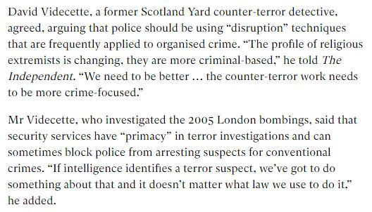 The Independent Government counter terror strategy August 2017.JPG