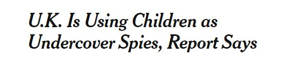 New York Times Child Spies headline - July 2018.JPG