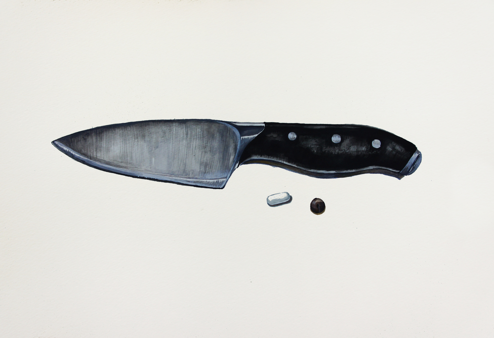 A Knife, Pill and Chocolate Chip