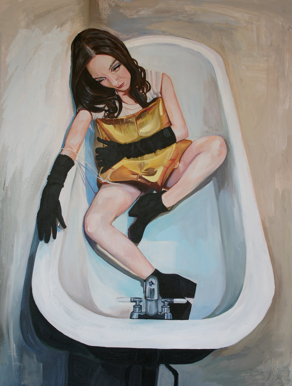 Balloon In the Bathtub*