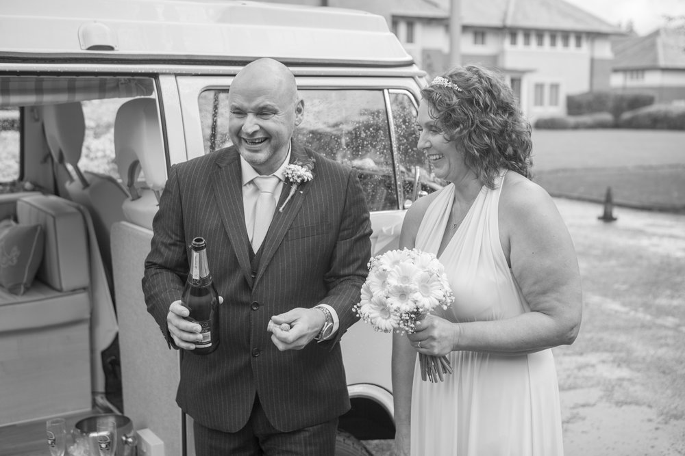 camper van wedding