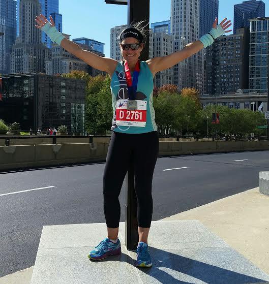 Amy S. Chicago Marathon 2015