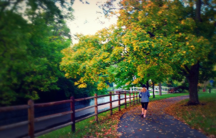 Heritage Park Run. Photo by JJ.
