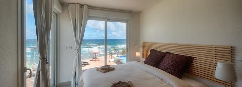 vacation rental oyster pond master bedroom