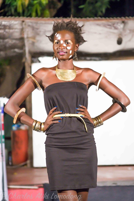 Akuja's Jewellery on model