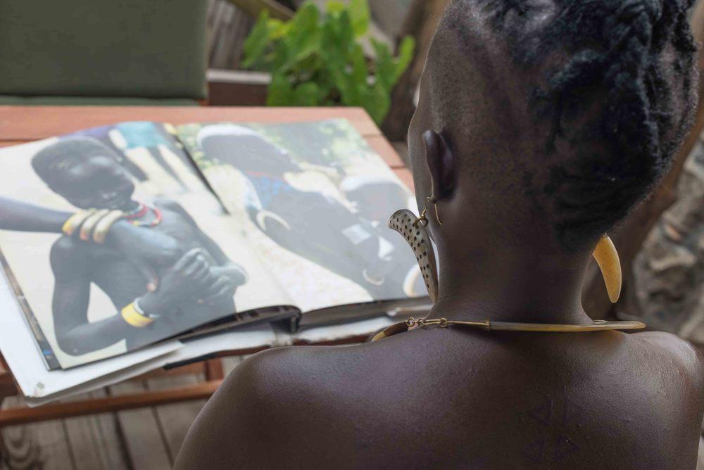 Akuja jewelry inspiration South Sudan culture