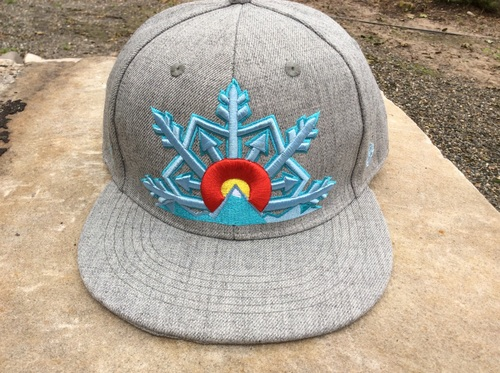 Colorado Hat heather grey wool 40c6857961b