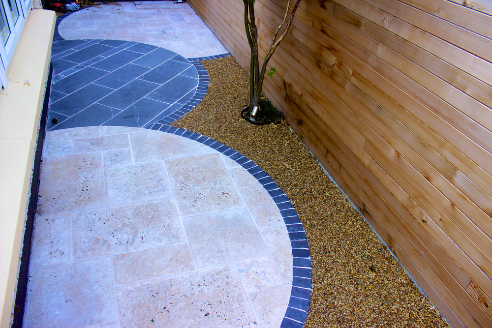 Natural Stone Paving circles