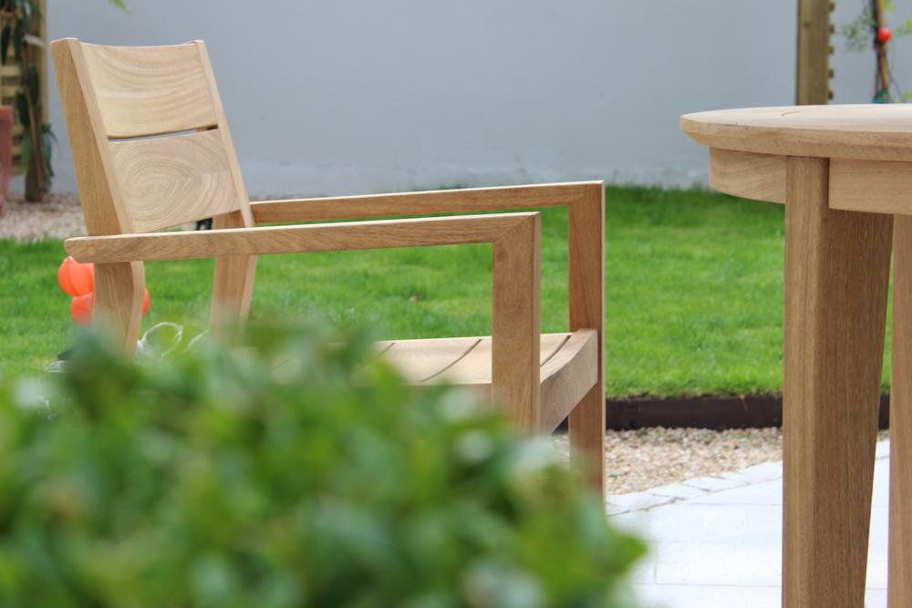 Garden Chair on Patio