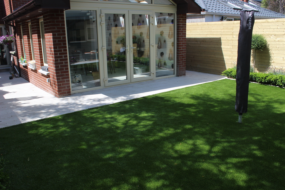 new artificial lawn