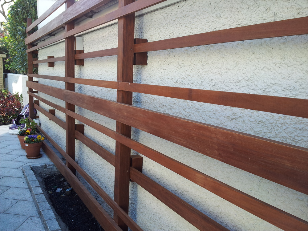 Bespoke Garden Timber Trellis