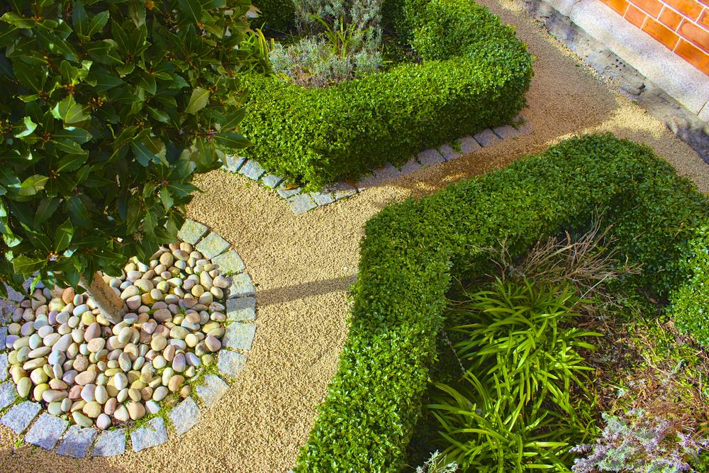 small period garden