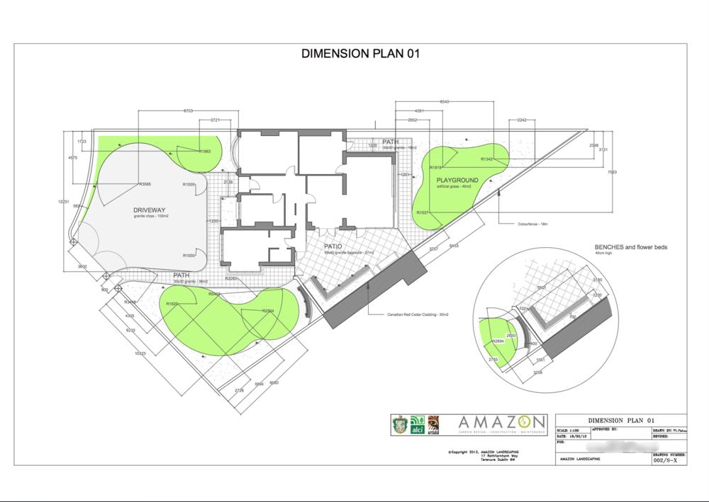 2D Design Plan Autocad Garden Design Plan ...