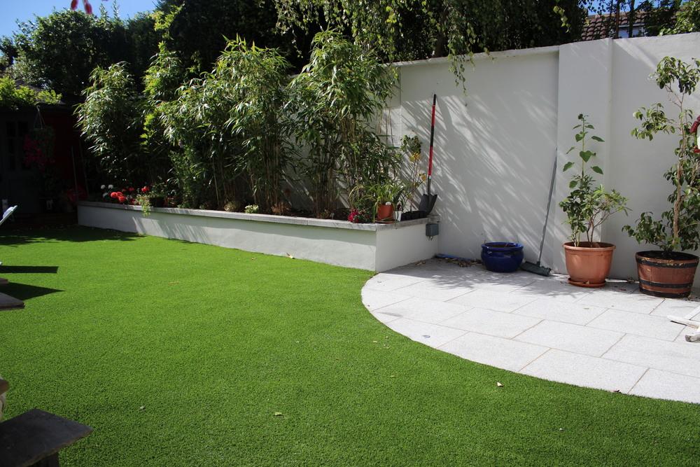 Garden Landscape Grass