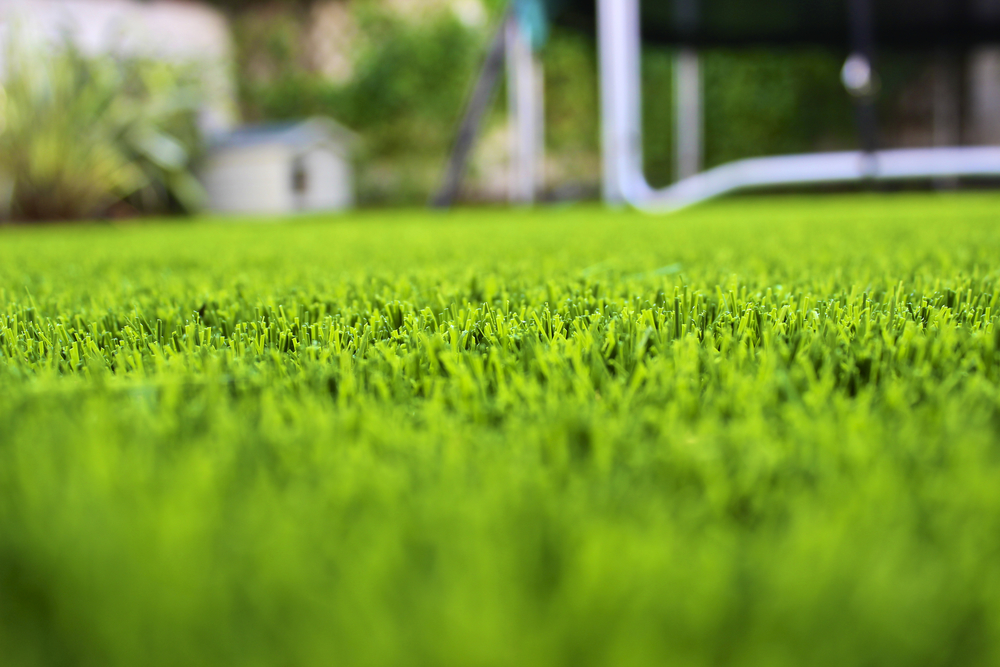 Close up of TigerTurf