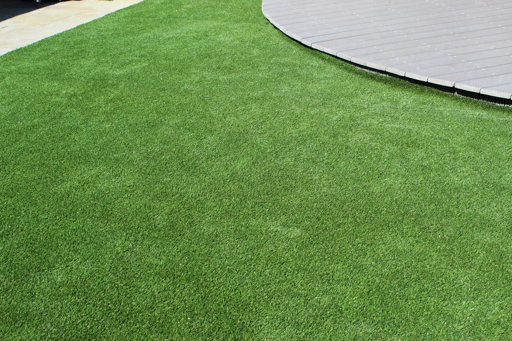 new artificial lawn turf