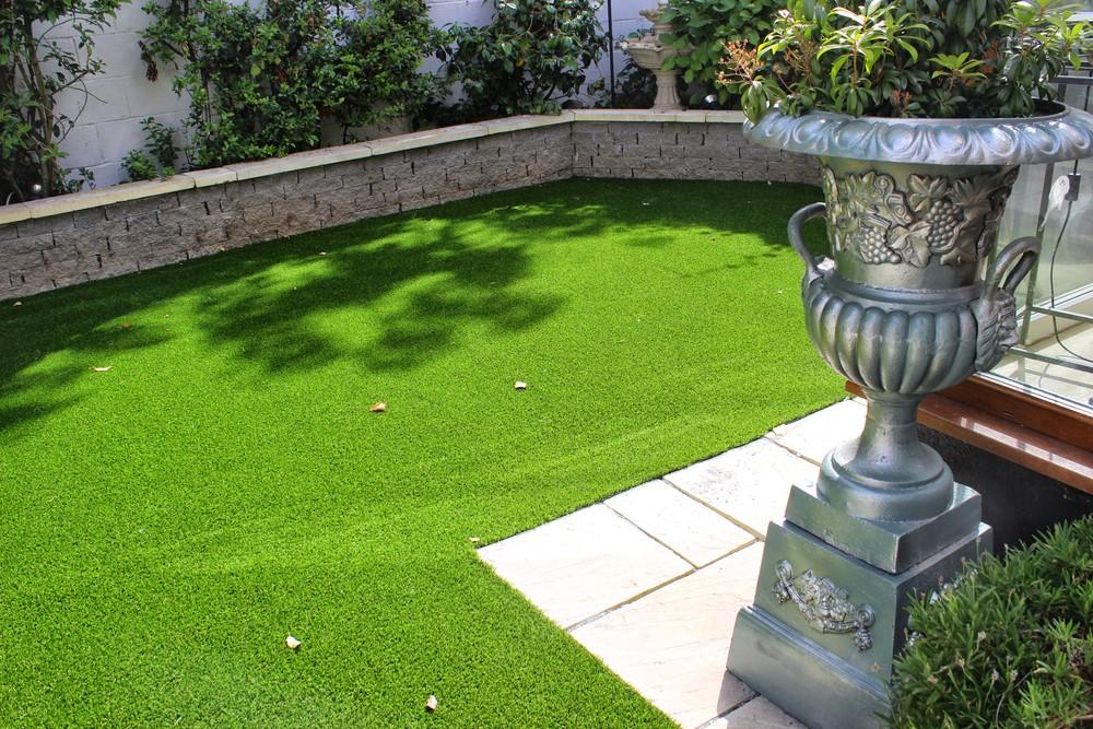 A classical garden lawn