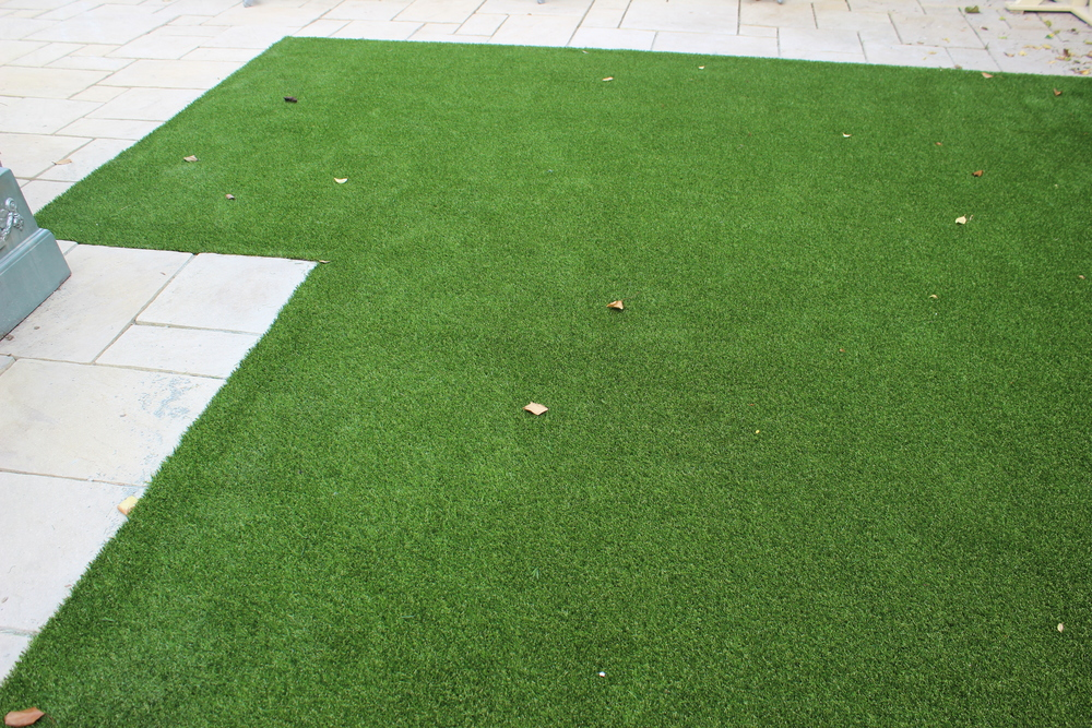 TigerTurf Lawn installation