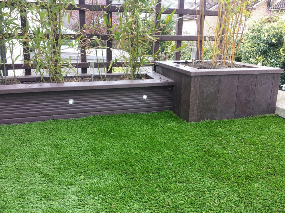 Planters and Turf