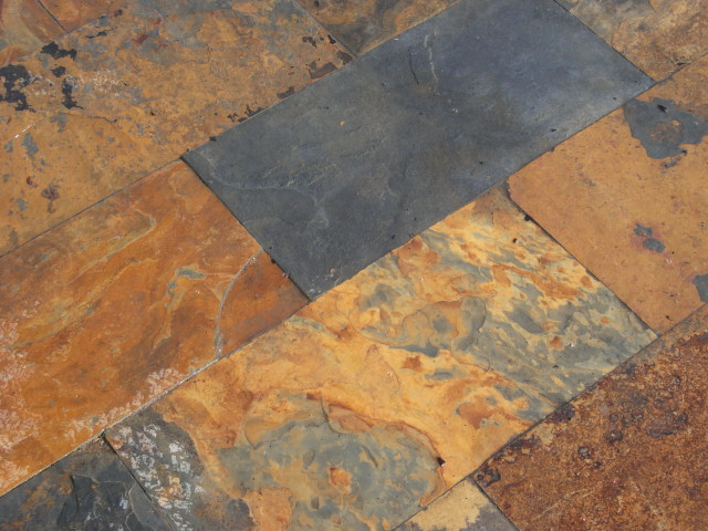 Chinese Slate paving