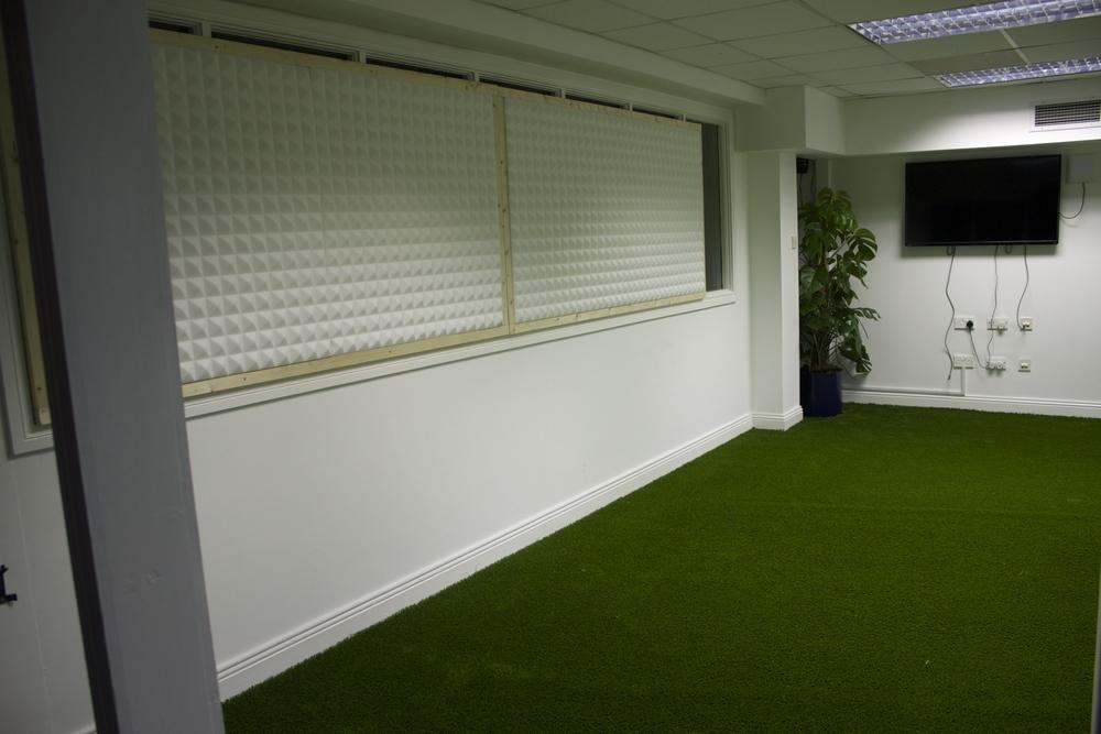 interior Grass Garden