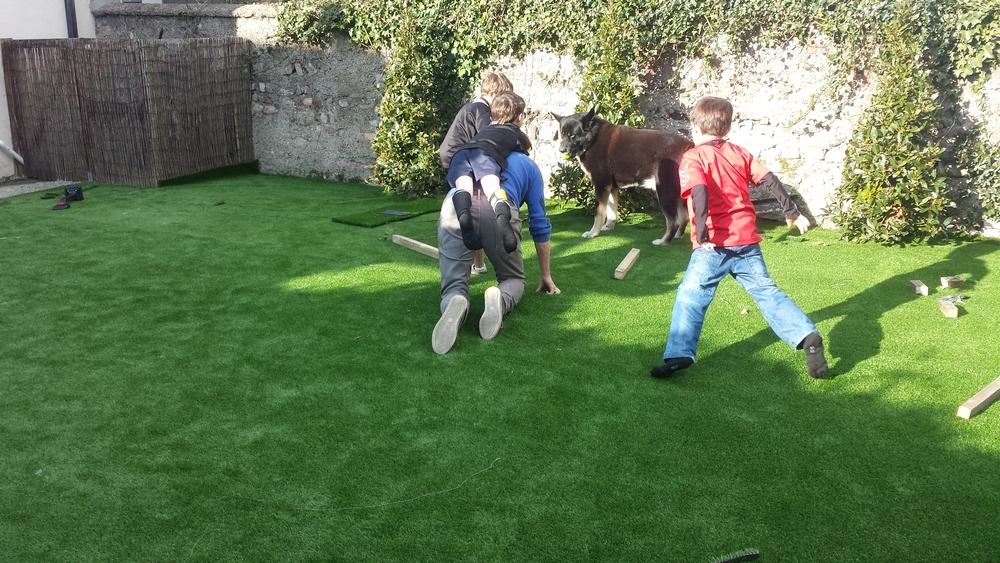kids on turf