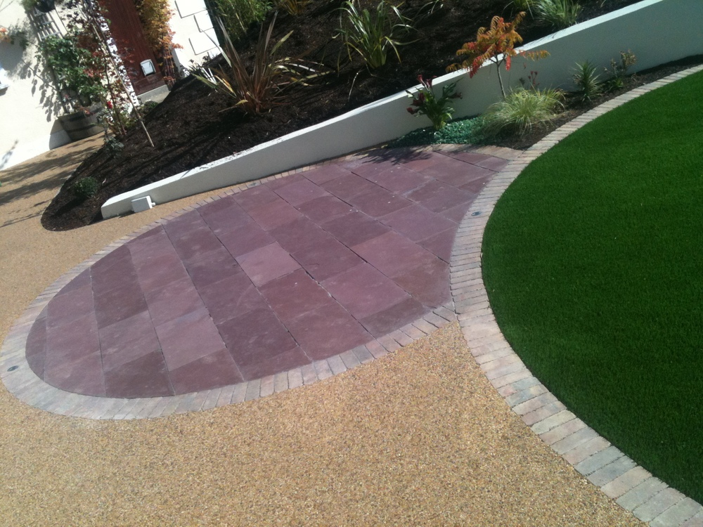 Resin bond in Garden Design