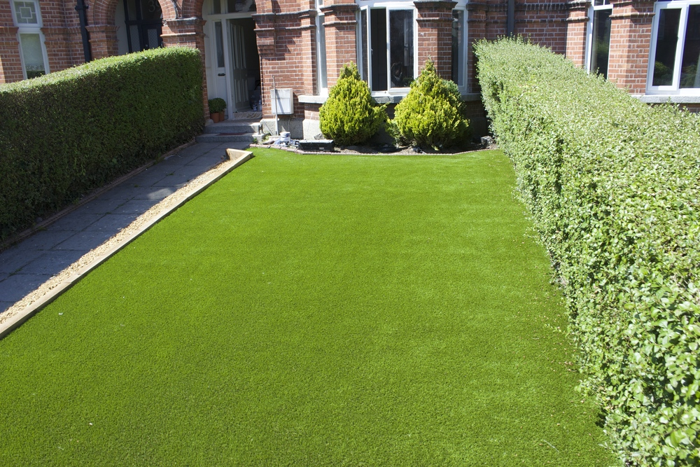 TigerTurf in Front