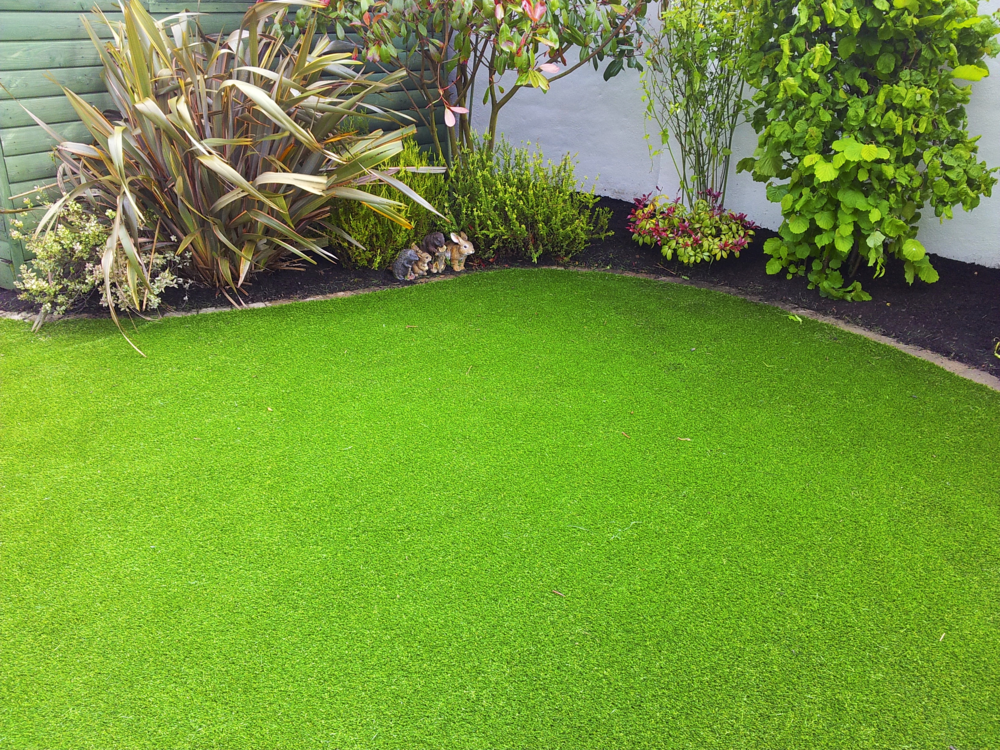 TigerTurf lawn transformation