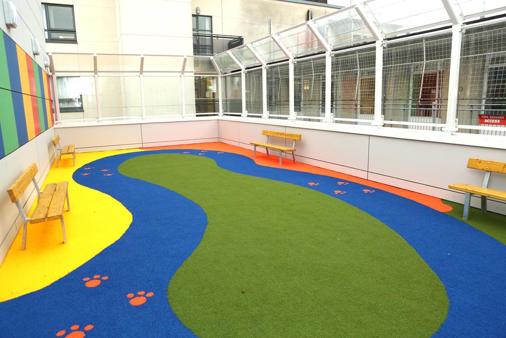 Crumlin Hospital Play Garden