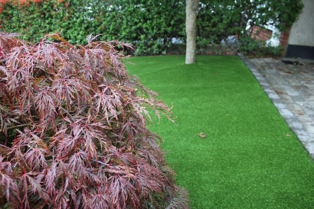 TigerTurf artificial lawns in Dublin front garden