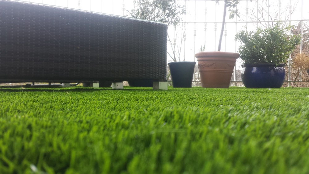 grass balcony