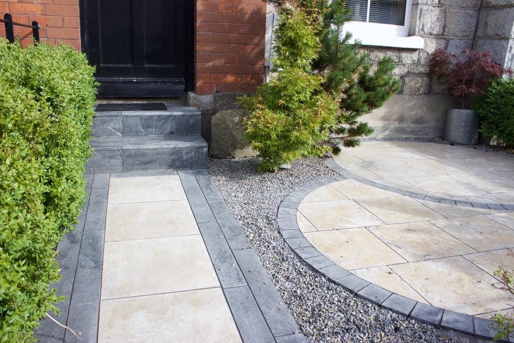 Cottage Garden Design in Dublin front Garden