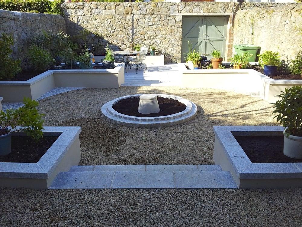 Garden Design Ireland glasthule garden — amazon landscaping -