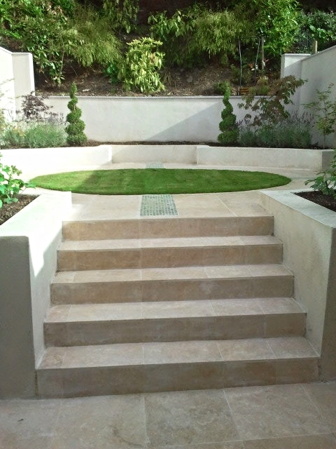 steps to Garden Terrace
